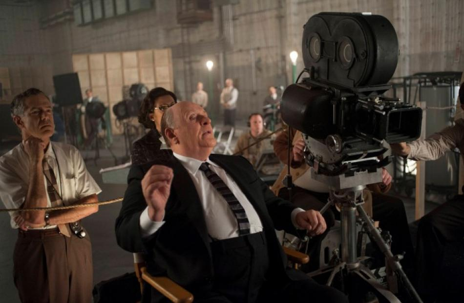 Actor Anthony Hopkins is shown in a scene from the upcoming film 'Hitchcock' in this publicity...