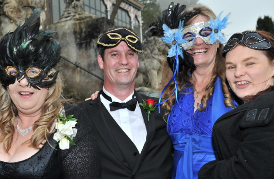 Dave Miller, Cynthia Johnstone and Jodene Bigharaz