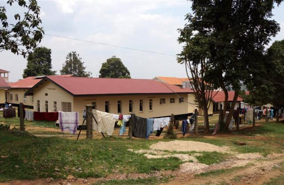 The Ugandan hospital where Dr Taylor worked. Photos supplied.
