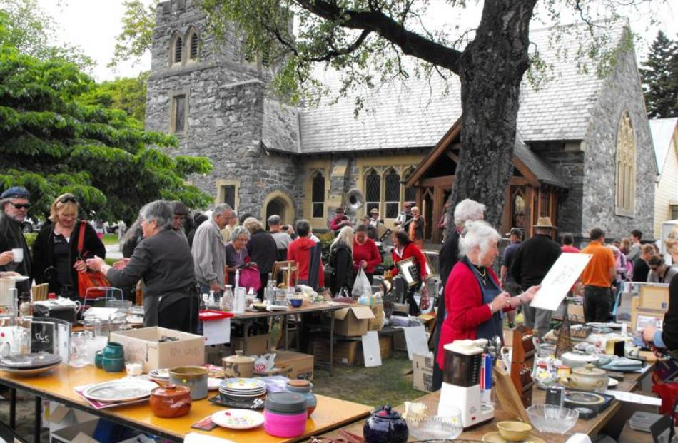 Bargains were to be found at the market day on Saturday. Hundreds of Queenstown residents turned...