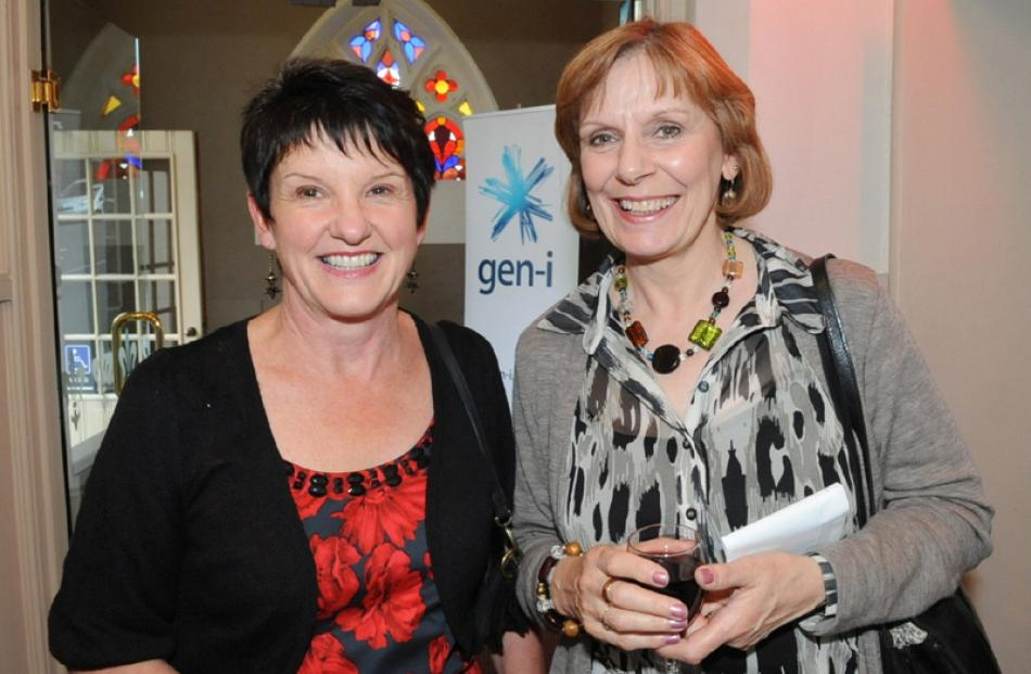Christine Wheeler and Patricia Johnston, both of Dunedin.