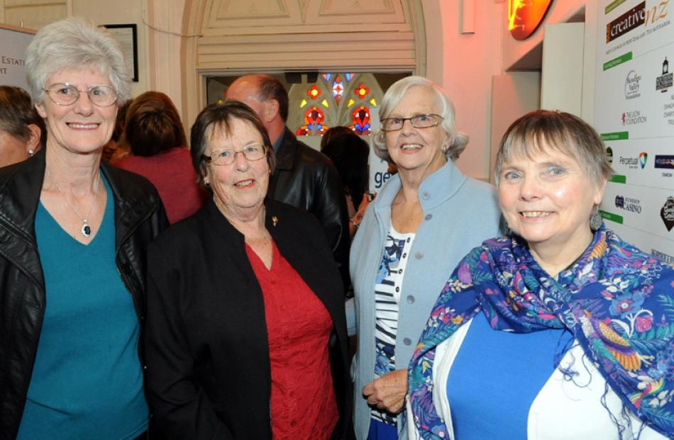 Marion Craig, Jocelyn Larsen, Bev Buist and Cathy Timperley, all of Dunedin.