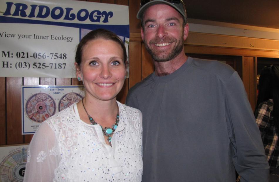 Shanti and Theron Burgess, of Golden Bay.