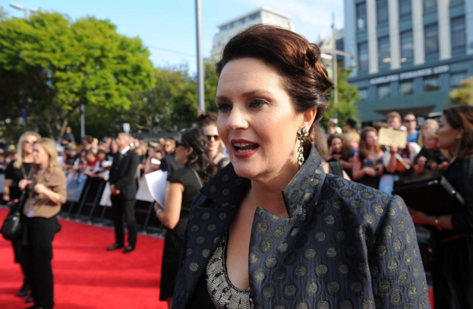 Producer Philippa Boyens The Hobbit: An Unexpected Journey' World Premiere at Embassy Theatre