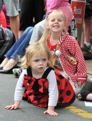 Sienna Davison (20 months) and Ruby Macdonald (7).