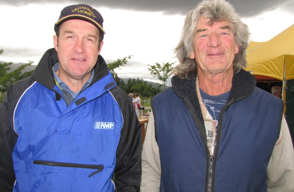 Greg Wilkinson, of Cromwell and Geoff Adams, of Bendigo.