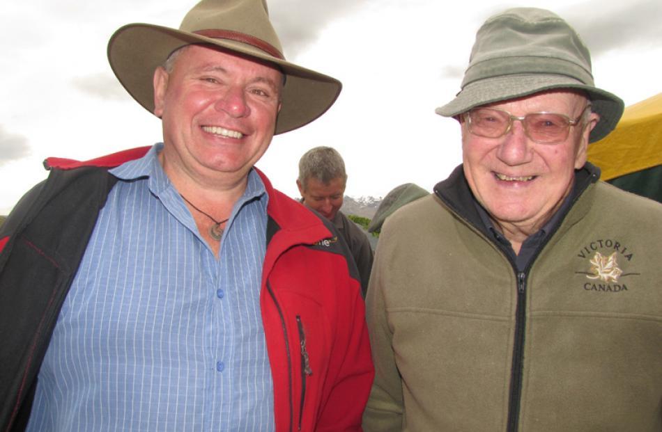 Lloyd Carpenter, of Christchurch and John Hall-Jones, of Invercargill.