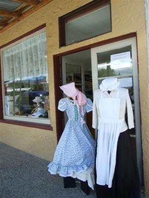 Some of the outfits made to order by the women. Photos BY Lynda Van Kempen.
