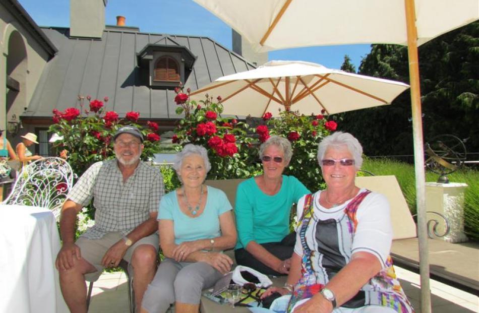 Mike Henry, of Queenstown, Judith Cleghorn, of Queenstown, Bev Hagen, of Te Anau, and Joyce...