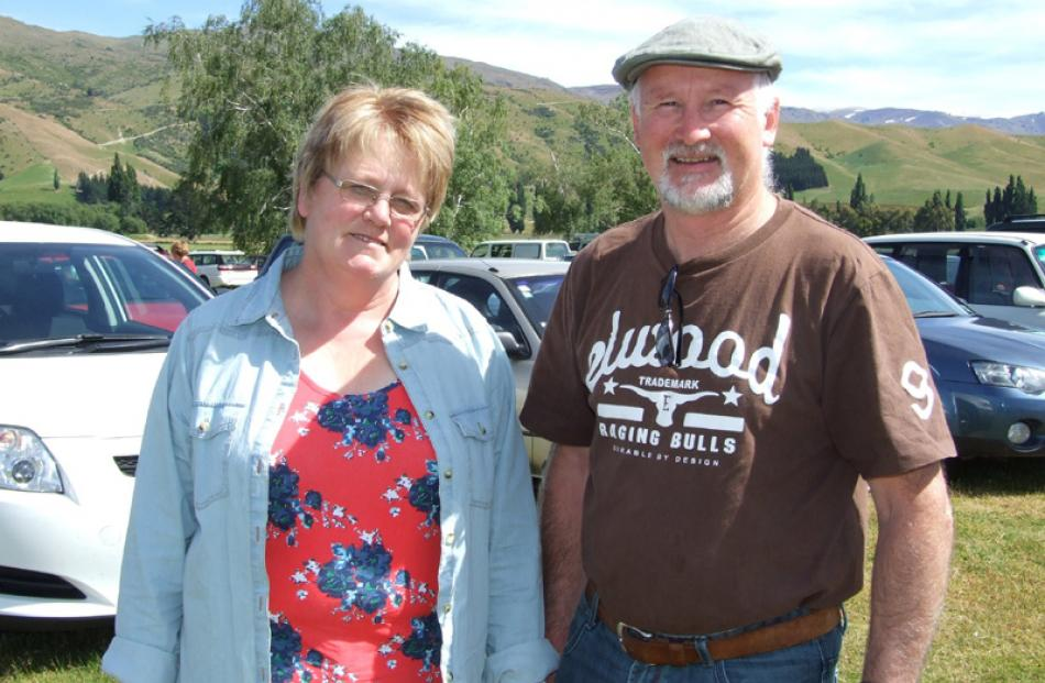 Murray and Sue Kennedy, of Queenstown.