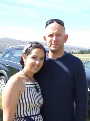 Nicole Kunzmann and Matt Humphrey, of Arrowtown.
