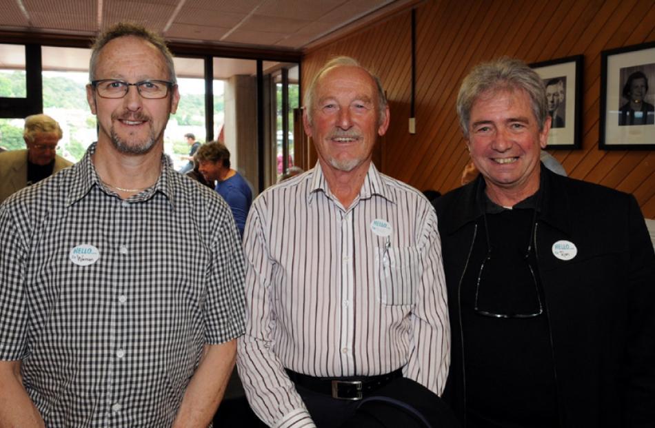 Warren Voight, Peter Dewhirst and Ron Esplin, all of Dunedin.