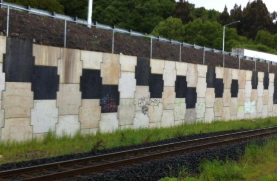 The wall. Photo by Doug McSweeney