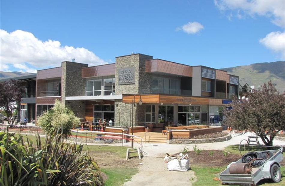 The  multi-use lakefront commercial building at 93 Ardmore St, Wanaka.
