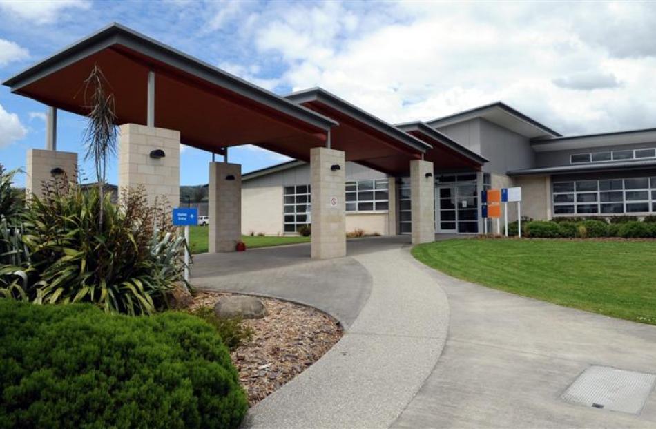 Front entrance of the Otago Corrections Facility at Milburn near Milton.