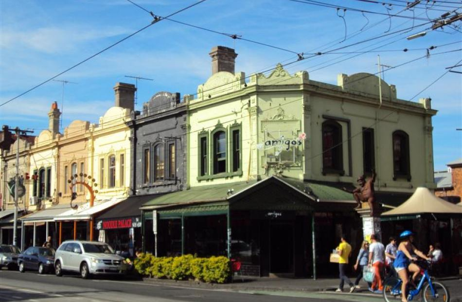 The suburb of Fitzroy is a magnet for lovers of vintage clothing and offers lots of great spots...