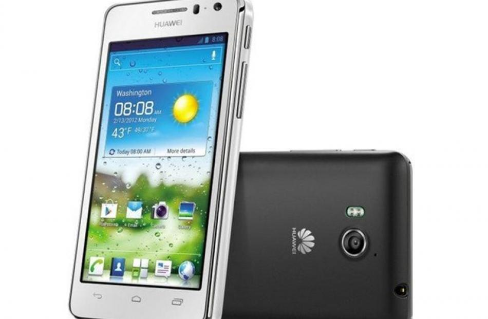 Huawei Ascend G600.