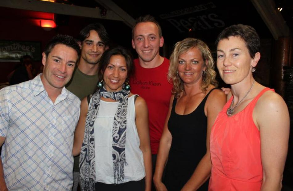 Alpine Health and Fitness manager Richie Heap (left) with (from left) Revive 2012 trainers Jose...