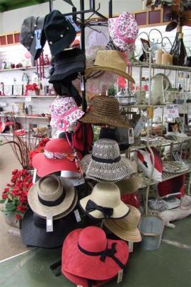 8. Gardening hats; Priced from $20, Nichol's Garden Centre, Dunedin.