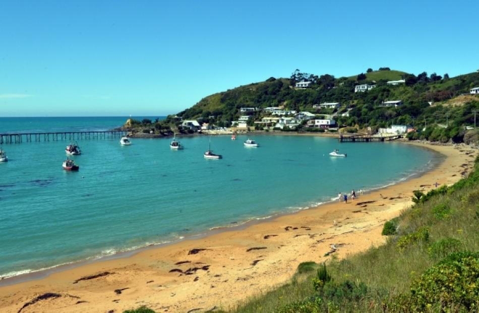 Unspoiled ... Moeraki's small size attracts holiday-makers from the city, keen for some peace and...