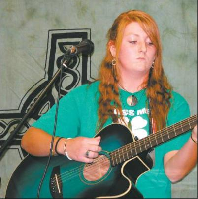 Original songs: Emma Rankin (17), of Cromwell, shared some of her own compositions.