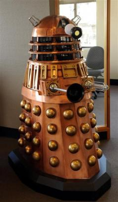 A Dalek occupies part of Jonathan Usher's  office.