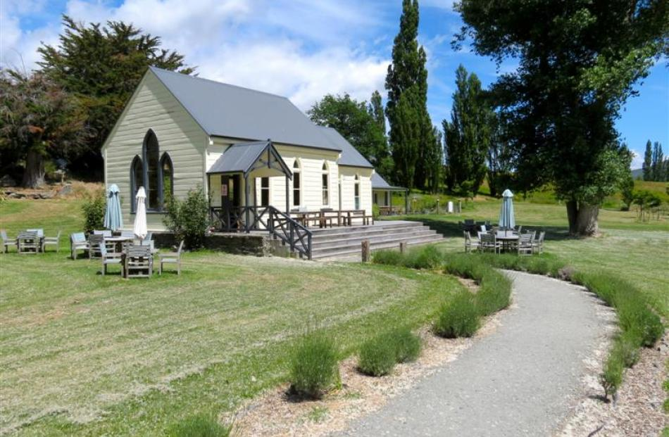 Many visitors to Waitiri Creek  assume the former church turned tasting room has always been on...