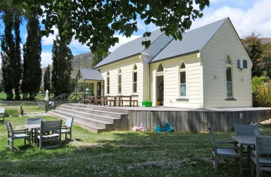The church was built from rimu for £240 in 1894.