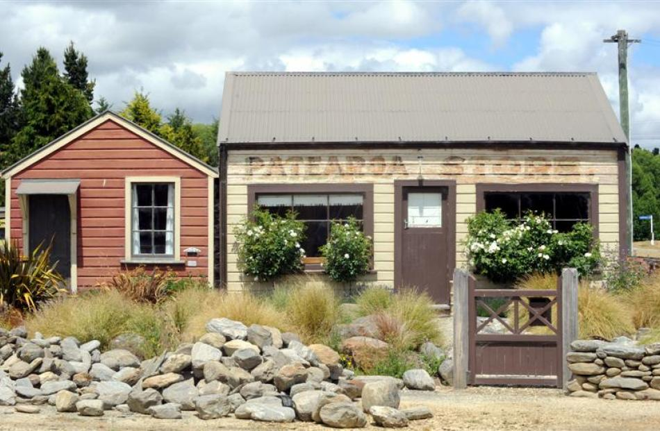 Patearoa's old store, which has a second life as a holiday home.