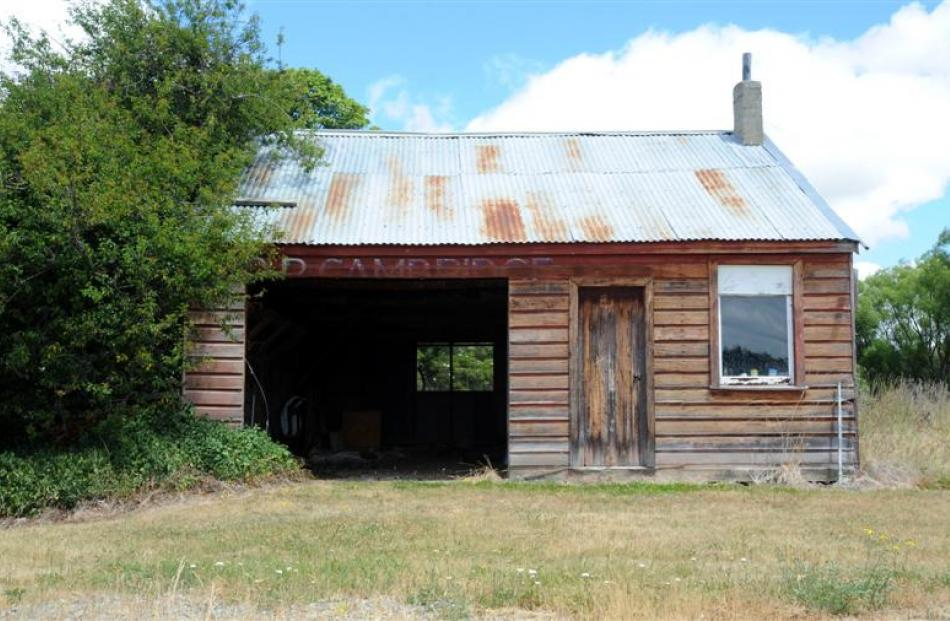 The township's old garage.