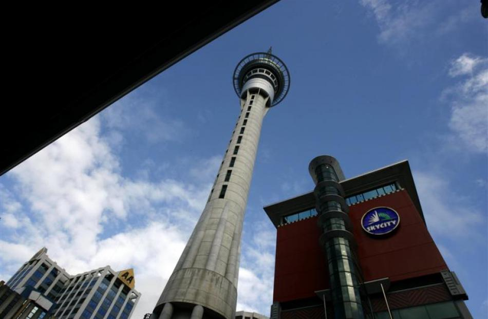 SkyCity Entertainment. Photo from NZ Herald.