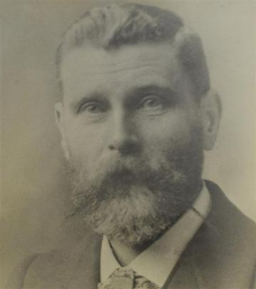 Peter Dick, who started a watchmaking business on Moray Pl in 1889.