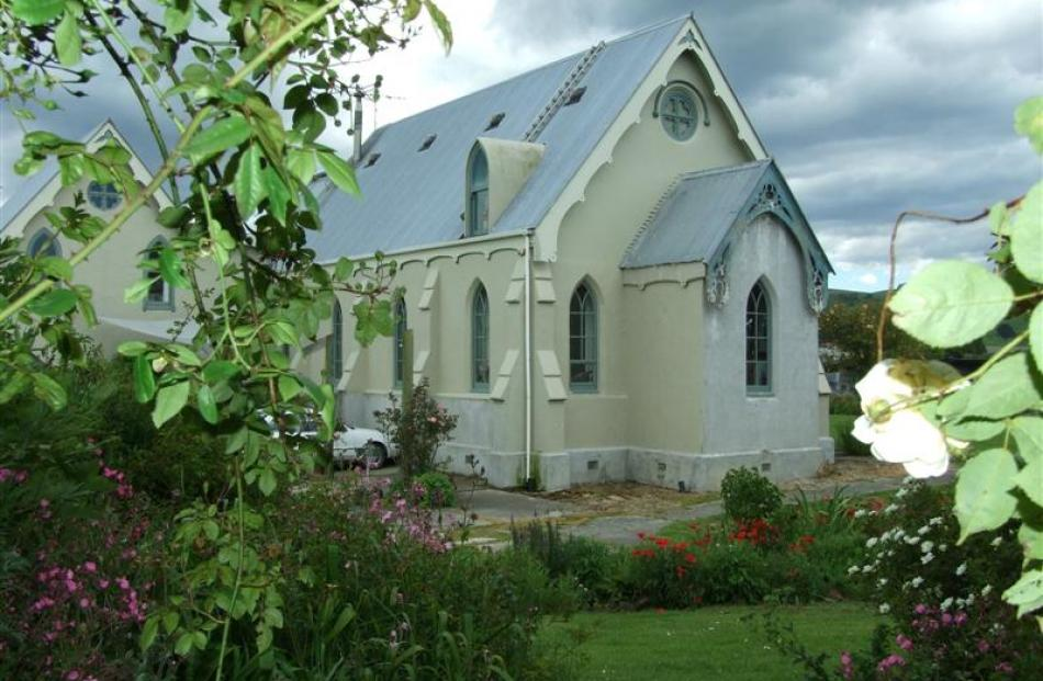 The former Milburn Presbyterian Church Bernard and Christine Flannery are converting into their...