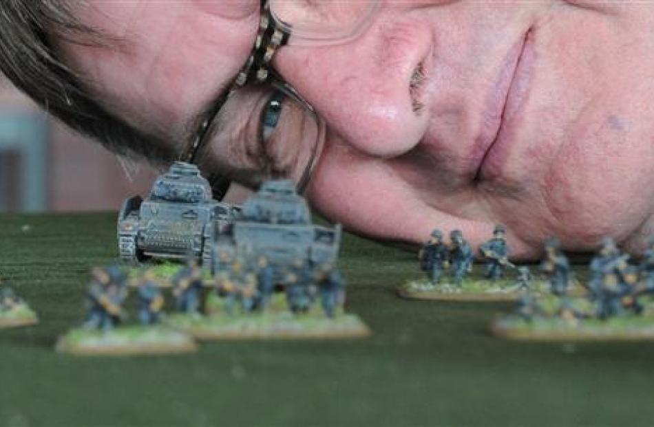 Mr Kearney gets a toy soldier's perspective.