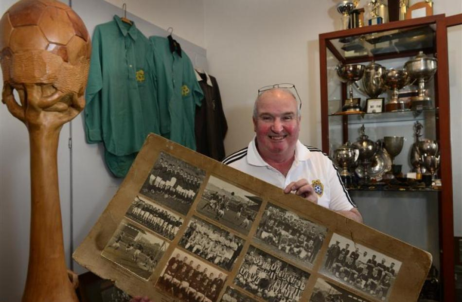 Dunedin resident Norm McRobbie says he will never stop collecting and hopes to publish a history...