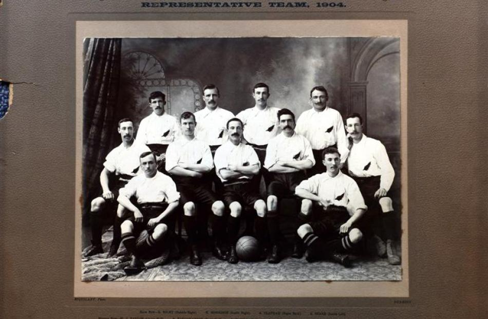 New Zealand's football team, which included about six Otago players, competed against a touring...