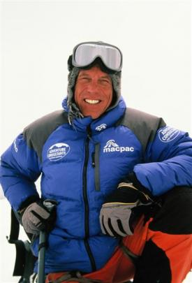 Guy Cotter on Mt Everest in 2007. Photo from Adventure Consultants.