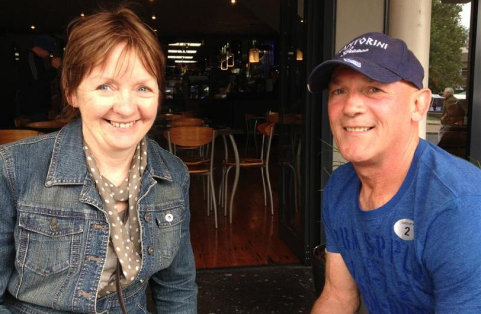 Passengers Leanne (55) and husband Phillip Butler (55), of Melbourne, said the unlimited food...