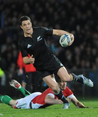 Dan Carter. Photo by ODT.