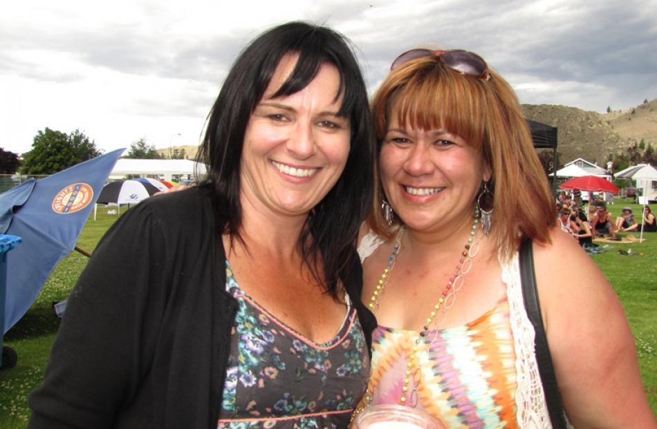 Theresa Laws and Theresa Shortland, both of Alexandra.