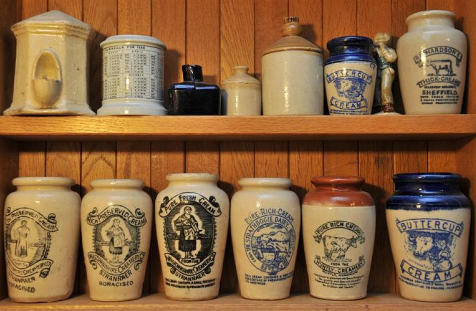 Russell Knowles' cream jars from Scotland boast ''boron preservative to prolong sweetness''.