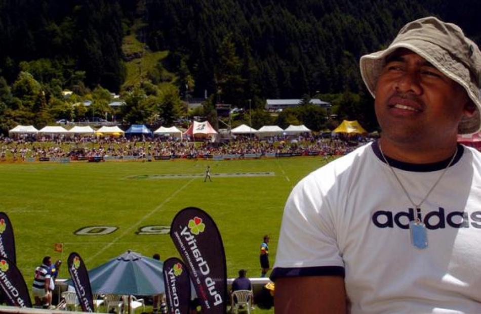 Jonah Lomu in 2005.