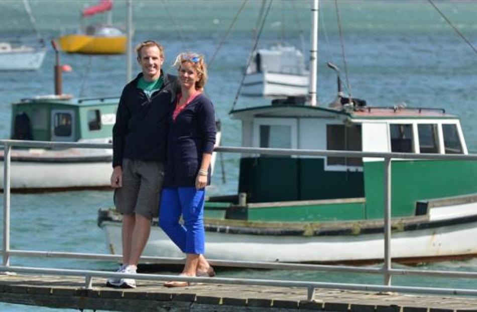 Dunedin sailor Stuart McLachlan and partner Sophie Luther are looking forward to a change of pace...