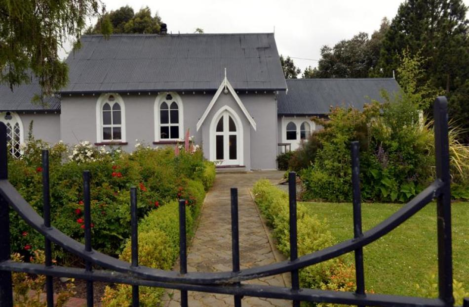 The former St Mary's Anglican Church at Herbert, in rural North Otago has a new life as a family...