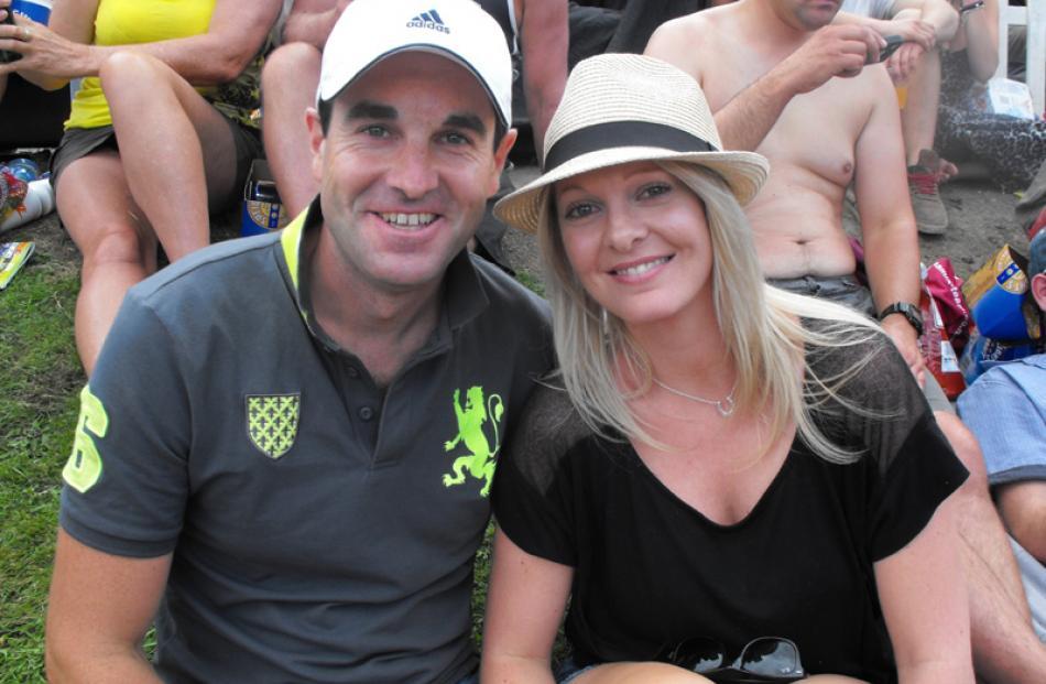 Grant Hammond and Kristie Preston, both of Queenstown.