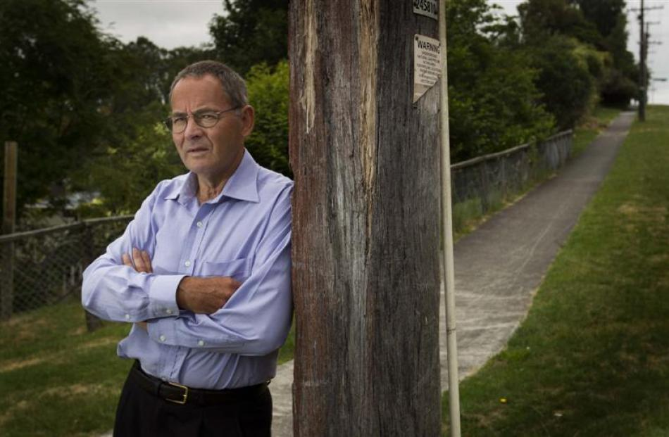 The Rev John Howell wants Jahche Broughton to know he is not forgotten. Photo from NZ Herald.