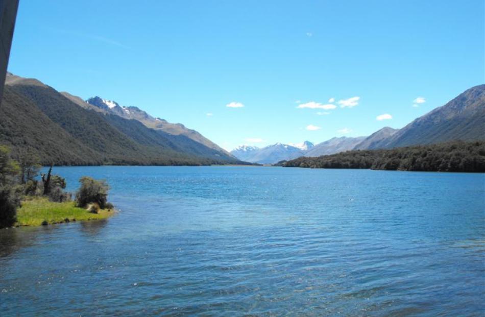 A gorgeous sight  at Mavora Lakes.