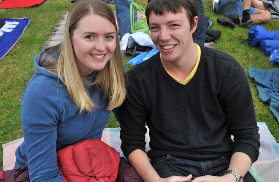Rebecca Brough and Joseph Stapleton, both of Dunedin.