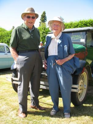 Ron and Betty Bennett of Auckland.