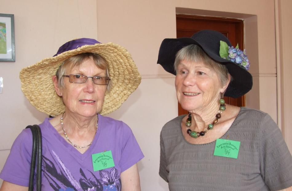 Faye Gunn of Milton, and Yvonne Dobbie of Waihola.